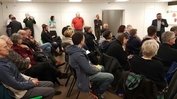'Slow The Flow: Calderdale' Public Meeting