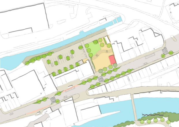 Sowerby Bridge Market Place Concept Plan