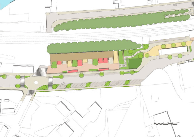 Sowerby Bridge Old Coal Drops Concept Plan