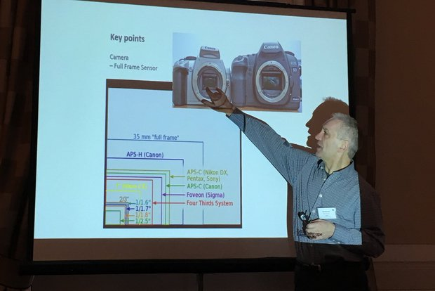 Bill explaining photography guidance