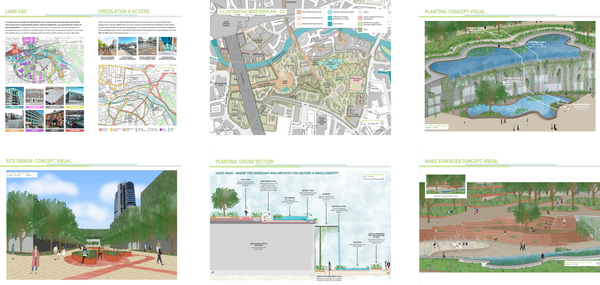 Cara Pedley's Masters of Landscape Architecture work