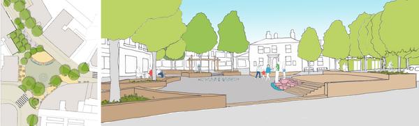 Thornton Square Brighouse Design 2