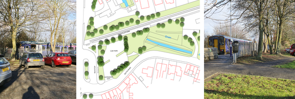 Barton-upon-Humber Transport Interchange photos and plan of existing site