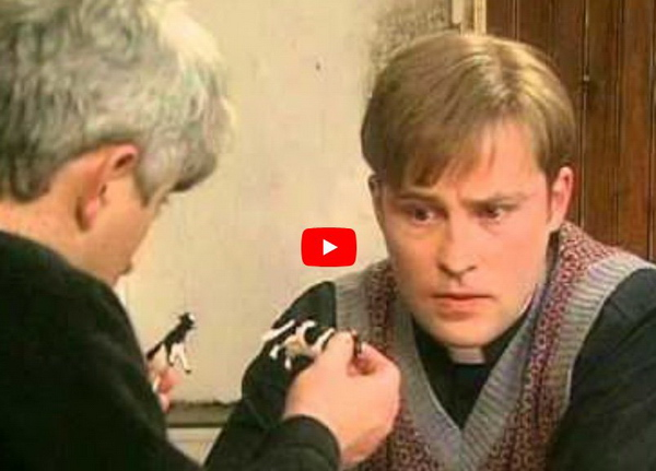 Father Ted - small or far away?